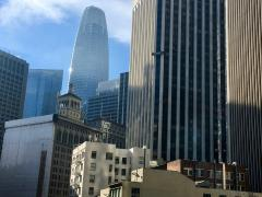 Photo : Downtown San Francisco avec Sale Force Tower