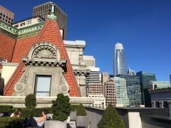 Vue sur les toits du Downtown San Francisco