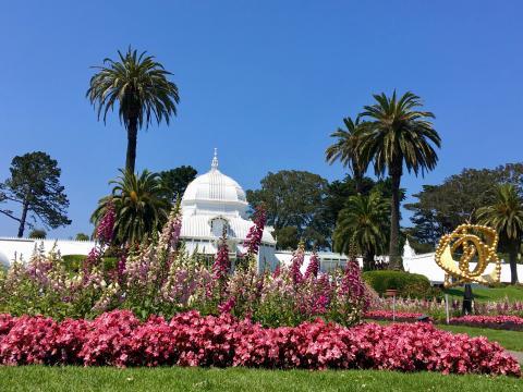 [Conservatory of Flower dan le par du Golden Gate]